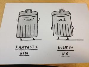 Rubbish Pun